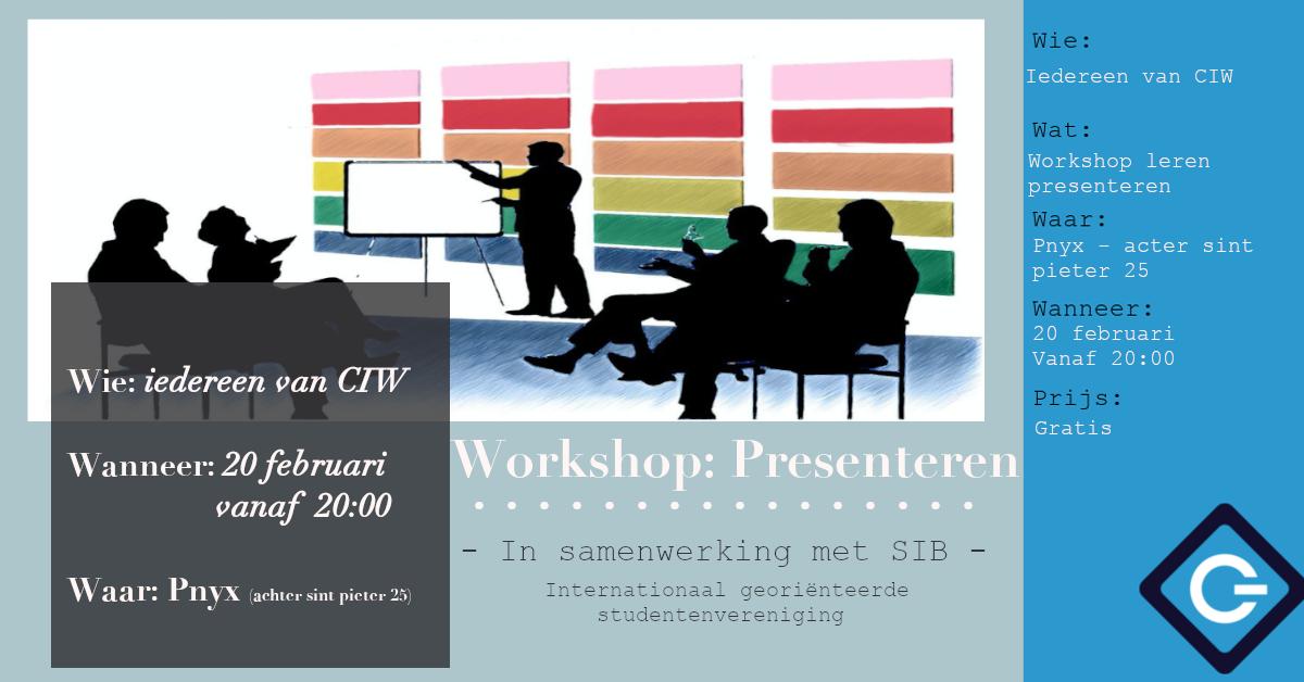 EC: Workshop Presenteren