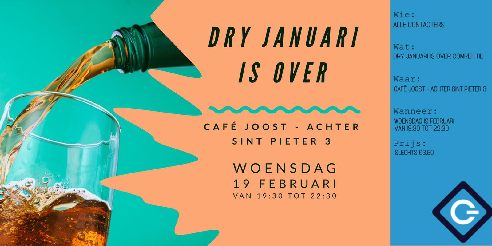 AC: Dry januari is over competitie