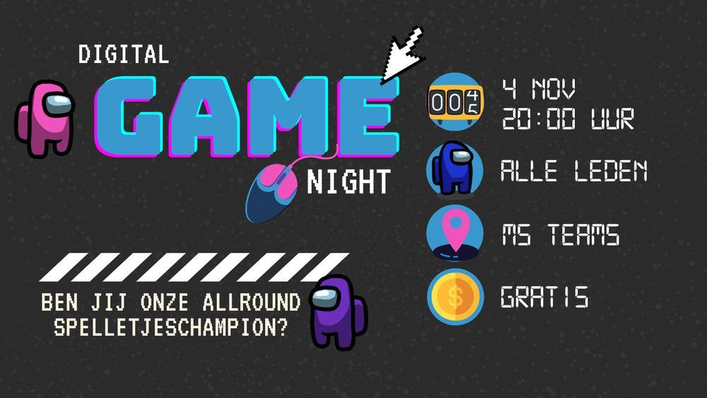 Digital gamenight